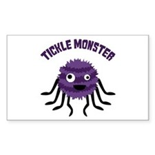 TICKLE MONSTER Decal