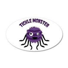 TICKLE MONSTER Wall Decal