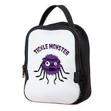 TICKLE MONSTER Neoprene Lunch Bag