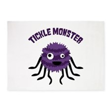 TICKLE MONSTER 5'x7'Area Rug
