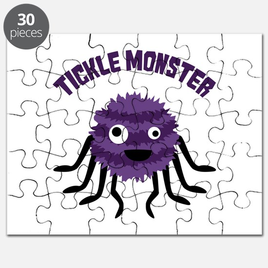 TICKLE MONSTER Puzzle