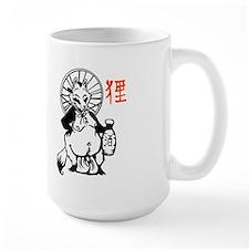 Large Tanuki Mug