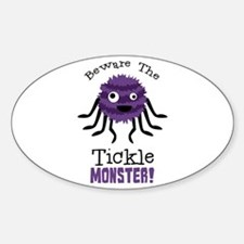 Beware The Tickle Monster! Decal