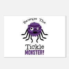 Beware The Tickle Monster! Postcards (Package of 8