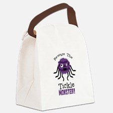 Beware The Tickle Monster! Canvas Lunch Bag