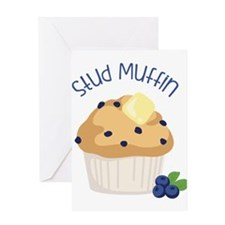 Stud Muffin Greeting Cards