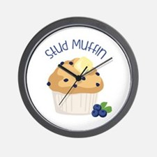 Stud Muffin Wall Clock