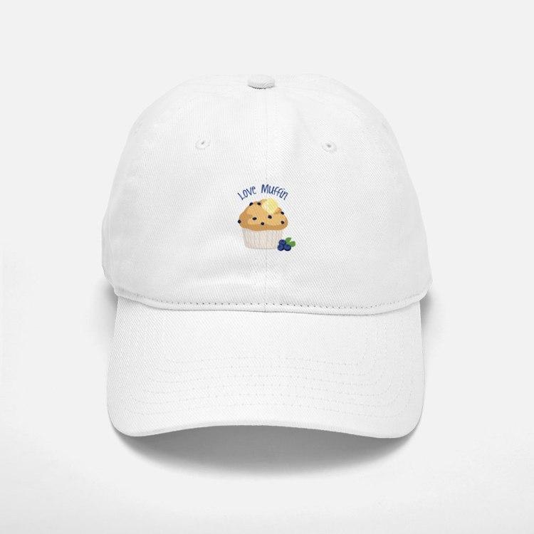 Love Muffin Baseball Baseball Baseball Cap