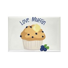 Love Muffin Magnets