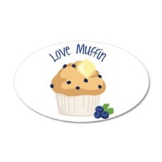 Love Muffin Wall Decal