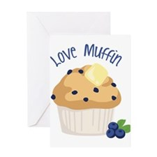 Love Muffin Greeting Cards