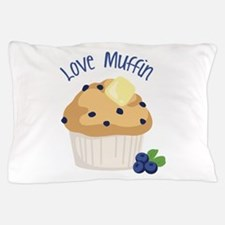 Love Muffin Pillow Case