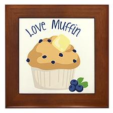 Love Muffin Framed Tile