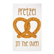 Pretzel In The Oven 3'x5' Area Rug