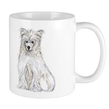 Chinese Crested Powder Puff Mug
