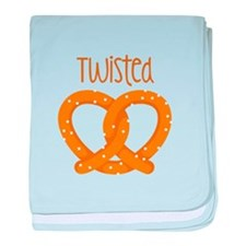 Twisted baby blanket