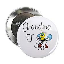 "Playful Grandma To Bee 2.25"" Button"