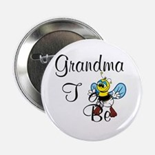 "Playful Grandma To Bee 2.25"" Button"