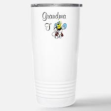 Playful Grandma To Bee Travel Mug