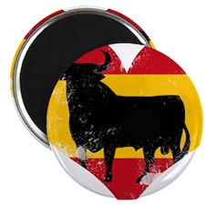 The Spanish Bull, El Toro de España Magnets