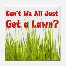 Get a Lawn Tile Coaster