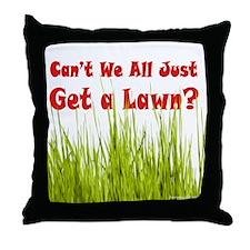 Get a Lawn Throw Pillow