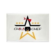 All-Star Chili Chef Rectangle Magnet