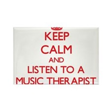Keep Calm and Listen to a Music arapist Magnets