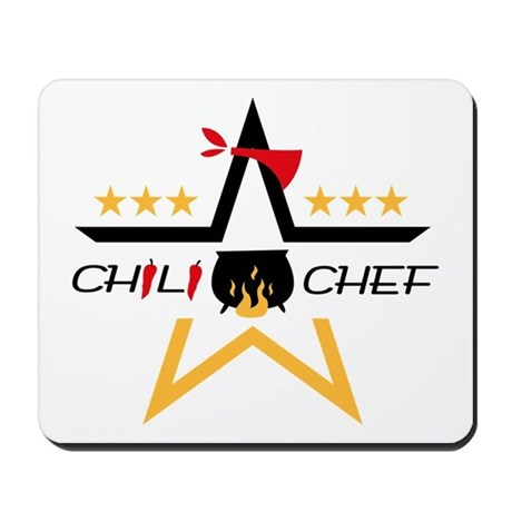 All-Star Chili Chef Mousepad