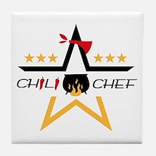 All-Star Chili Chef Tile Coaster