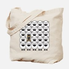 GSD in the Sheep Tote Bag