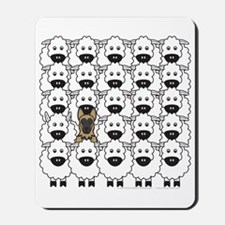 GSD in the Sheep Mousepad