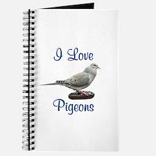 I Love Pigeons Journal