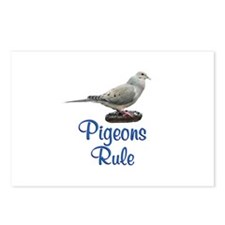 Pigeons Rule Postcards (Package of 8)