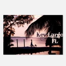 Key Largo, FL Sunset Postcards (Package of 8)