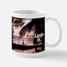 Key Largo, FL Sunset Mugs