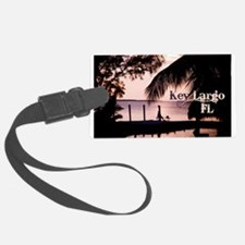 Key Largo, FL Sunset Luggage Tag