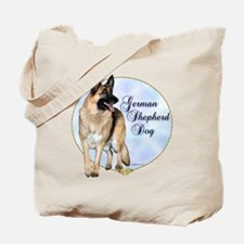 GSD Portrait Tote Bag