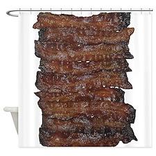 Bacon Shower Curtain