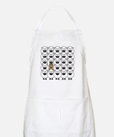 Tervuren and Sheep BBQ Apron