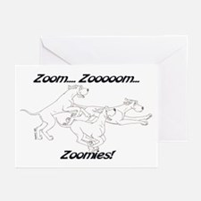 Z Z Zoomies Greeting Cards (Pk of 10)