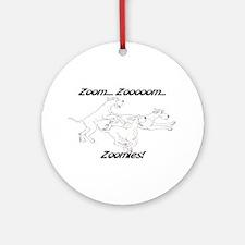 Z Z Zoomies Ornament (Round)