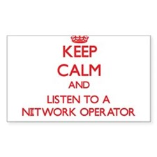 Keep Calm and Listen to a Network Operator Decal
