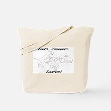 Z Z Zoomies Tote Bag