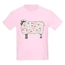 Floral Sheep T-Shirt
