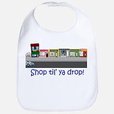 Shop Til Ya Drop Bib
