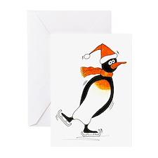 Penguin skater ~ Greeting Cards