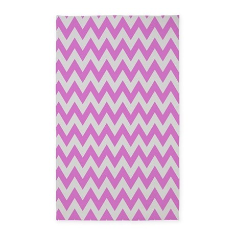 pink and grey chevron 3 39 x5 39 area rug by thetestshop. Black Bedroom Furniture Sets. Home Design Ideas