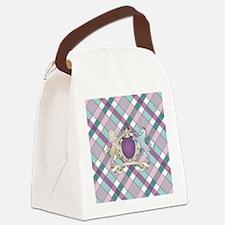 FAMILY CREST PLAID Canvas Lunch Bag