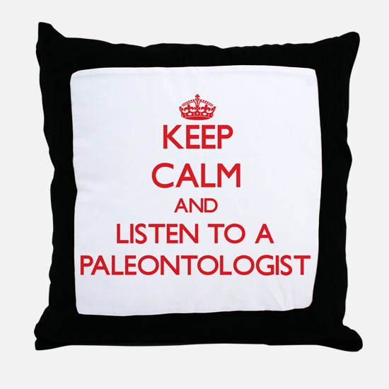 Keep Calm and Listen to a Paleontologist Throw Pil